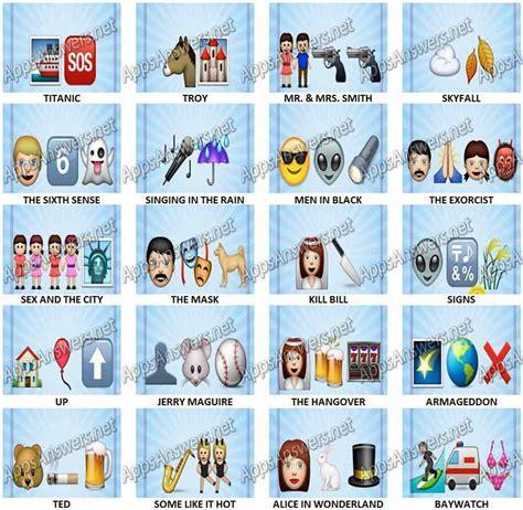 emoji film charades emoji quiz answers level 61 level 80 car interior design