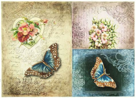 Where To Buy Decoupage - rice paper for decoupage scrapbook sheet craft quot vintage