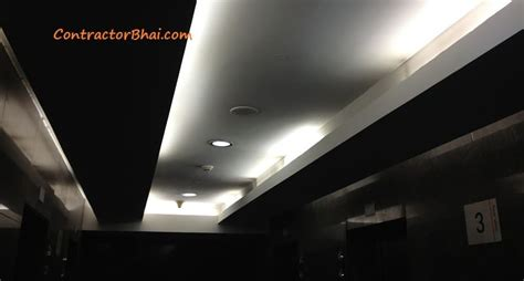 False Ceiling Lights Indirect Lights In Your False Ceiling With Led Stripes Contractorbhai