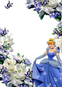 frames png fotos princesas disney 3 imagens para photoshop
