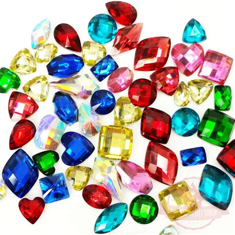 Resin Mix Colour 12mm For Deco Cas 4mm 8mm 10 pcs diy resin faceted rhinestone flat back
