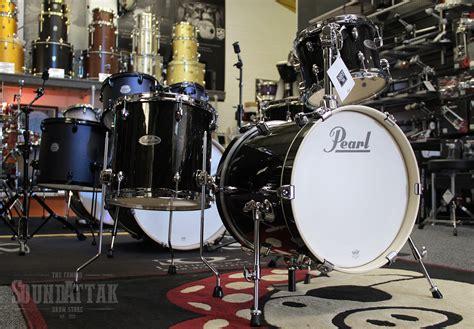 gold drum drums pearl midtown drum kit black gold sparkle