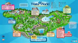 Water World Map by Water World In Denver Colorado Trip Advice Guide