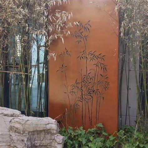 corten garden screens price high quality corten steel wall panels used for garden