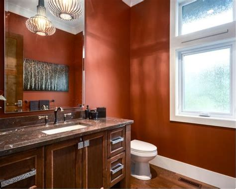 rust colored bathroom rust color home design ideas pictures remodel and decor