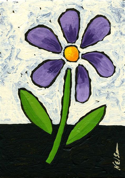 easy painting flower designs easy flowers to paint for beginners images pictures