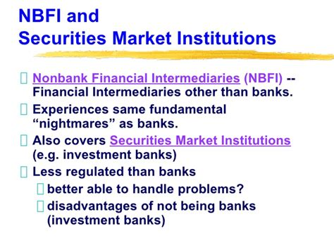 intermediary bank details non banking financial intermediaries