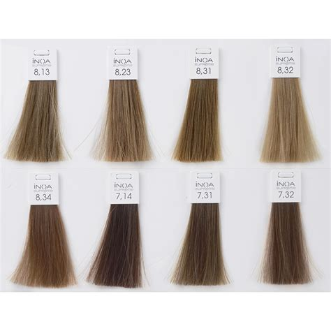 inoa supreme colour chart l or 201 al professionnel inoa supreme haarfarbe notino at