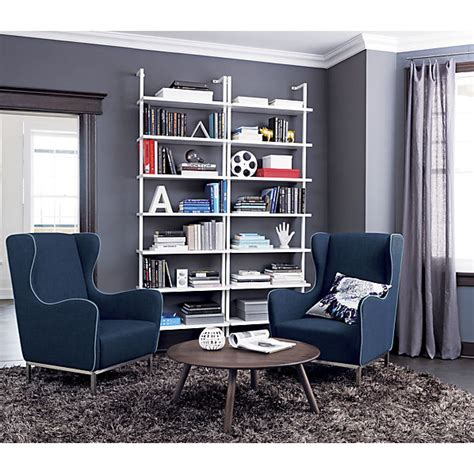 Stairway White Wall Mounted Bookcase Cb2 Wall Mounted Bookcase White