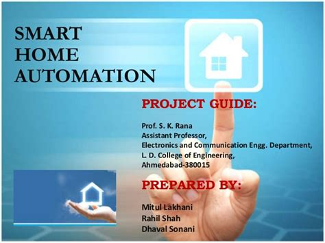 smart home automation by ldce student
