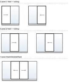 Standard Patio Door Measurements Aluminium Sliding Doors Sydney Betaview