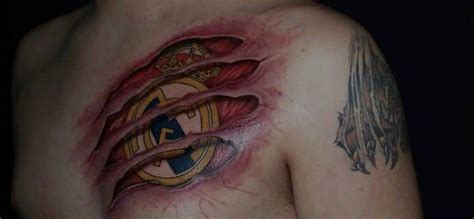 real madrid tattoo 52 best real madrid made golfian