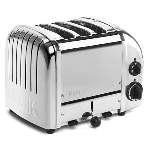 dualit tostapane dualit polished 3 slice toaster s of kensington