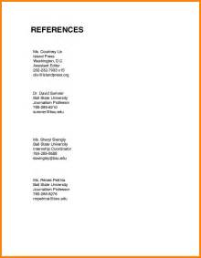Job Resume With References by 8 How To List References On Resume Basic Resume Layouts