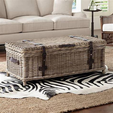 rattan trunk coffee table navarro rattan outdoor coffee table trunk 1x487 ls