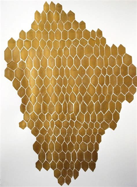 honeycomb pattern pinterest kate roebuck big gold honeycomb