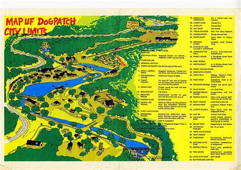 dogpatch usa map dogpatch usa map flickr photo