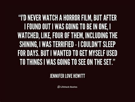 film horror quotes horror movie love quotes quotesgram