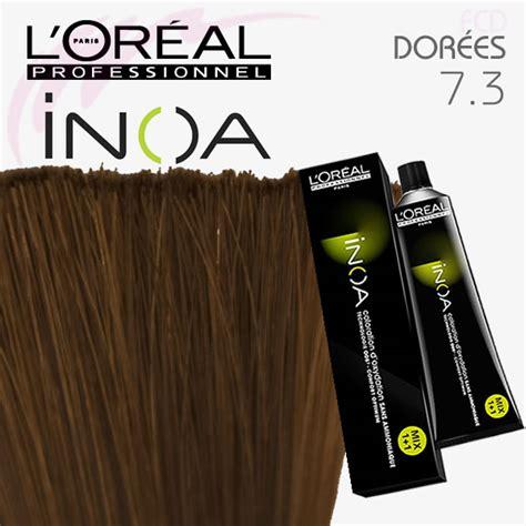 l oreal inoa no 5 3 with 6 20vol inoa deeveloper permanent hair color brown light golden 60 gm inoa color 7 3 blond dor 233 60g coloration sans ammoniaque