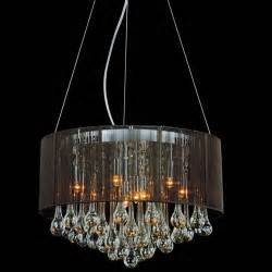 Chandelier String Lights Brizzo Lighting Stores 18 Quot Gocce Modern String Drum Shade