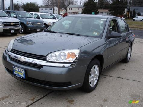 Gray Ls by 2005 Medium Gray Metallic Chevrolet Malibu Ls V6 Sedan