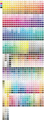 pantone color chart paint palettes pms color chart and charts