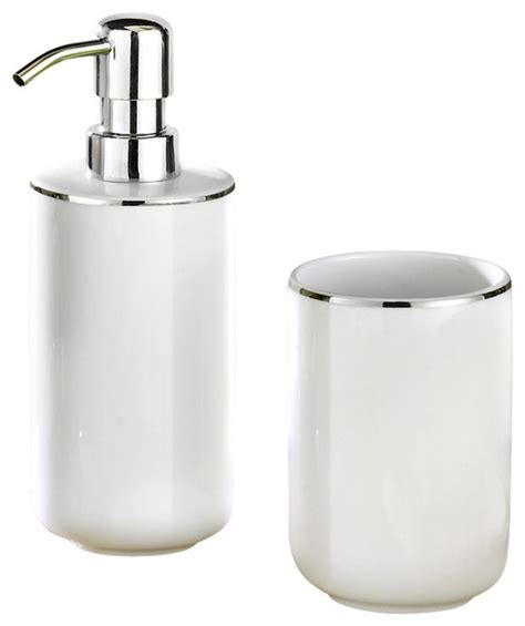 white porcelain bathroom accessories white porcelain bath and spa accessories set traditional