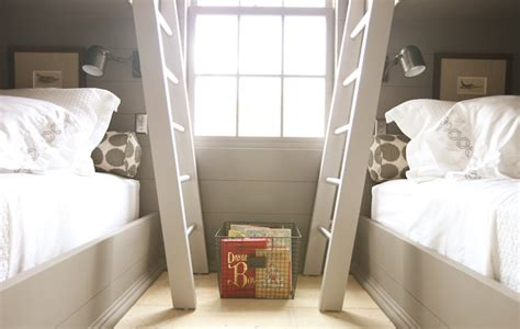 built in bunk beds cottage boy s room hickman design built in bunk beds cottage boy s room pratt and