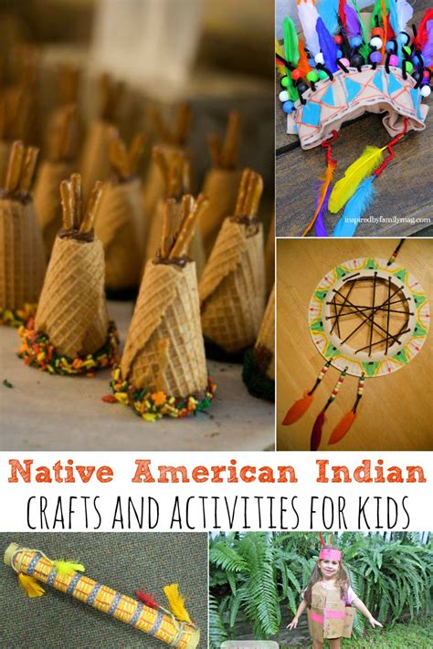 india crafts for american indian crafts and activities for