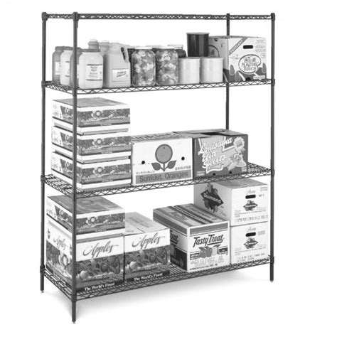commercial kitchen wire shelving metro erecta metroseal 3 stainless steel 3 tier
