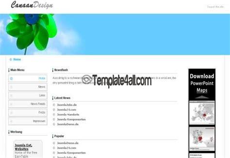 joomla simple template free free joomla white green theme template