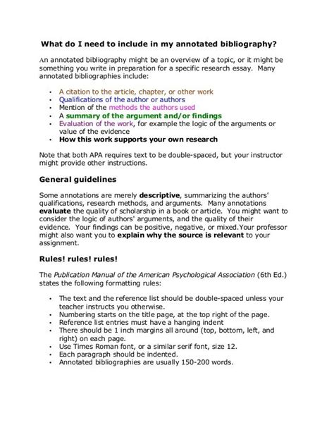 Slides Note Card Template For Annotated Bibliography by Annotated Bibliography Template Apa Image Collections