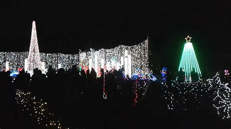 plantation baptist church christmas light display youtube