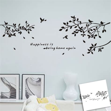 meru visio stencils diy removable quote wall details about family diy
