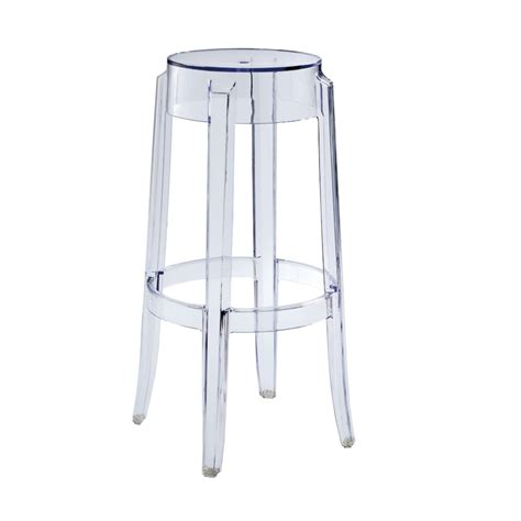 replica philippe starck charles ghost stool 75cm