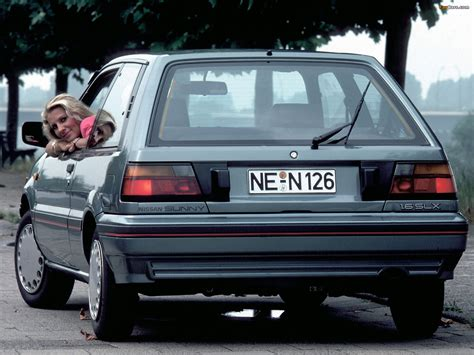 nissan sunny 1986 1986 nissan sunny 1 0 related infomation specifications