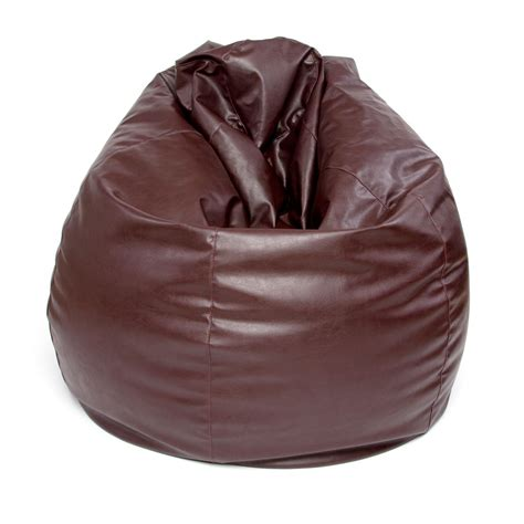 Bean Bag Company Faux Leather Pear Drop Beanbag