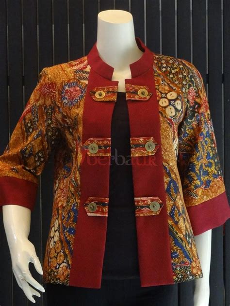 Gamis Ungu Blazer Lace best 25 model dress batik ideas on batik