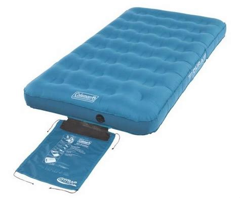 Coleman Single Air Mattress by Coleman Single Durasleep Air Mattress A Bed