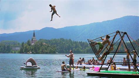 russian swing russian swing flips into a lake daredevils