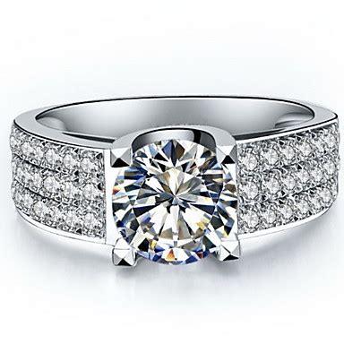 Cincin Berlian Motif Fashion Gold Emas Putih 51 ring s silver sterling silver platinum plated silver sterling silver