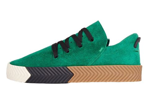 adidas x alexander wang adidas x alexander wang aw skate green the sole supplier