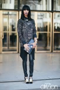 New york fashion week street style afrizion