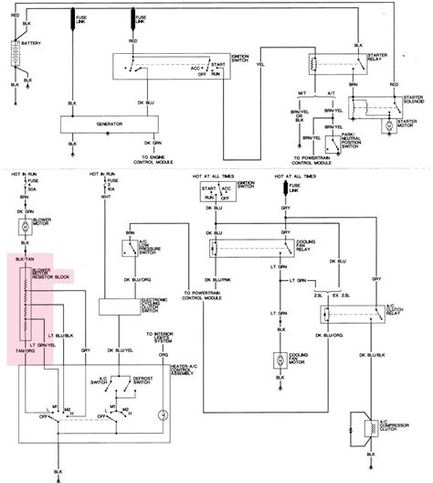 blower motor resistor wiring diagram 36 wiring diagram