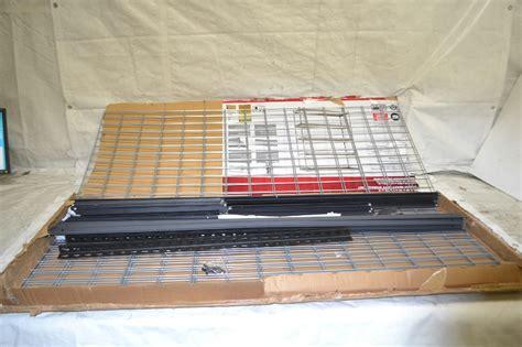 edsal heavy duty steel shelving edsal trk 602478w5 heavy duty steel shelving in black ebay