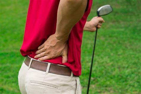 lower back pain and golf swing four swing problems that cause back pain golfersreport