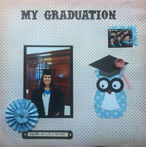 scrapbook layout graduation my graduation scrapbooking layout craft ideas pinterest