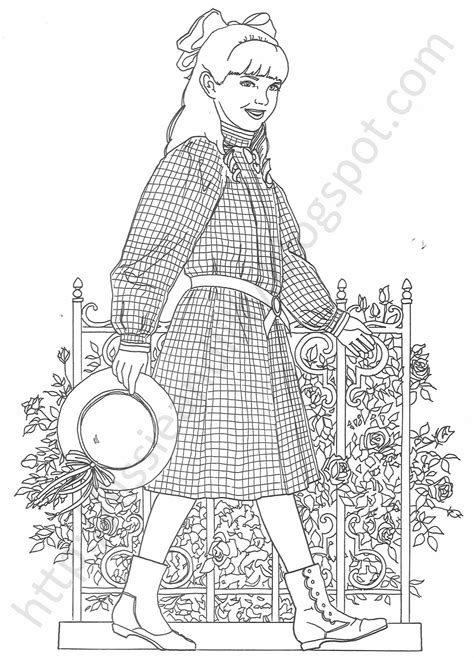 Lissie Lilly Coloring Pages American Julie Coloring Pages