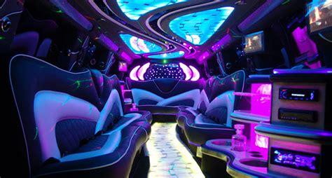 inside a limo hummer limo escalade limo chrysler limo sprinter limousine