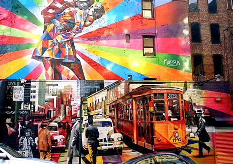 nyc nyc eduardo kobras mural  alfred eisenstaedts
